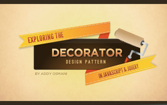 today well be taking a look at the decorator pattern a structural pattern that promotes code reuse and is a flexible alternative to subclassing - Photo Decorator